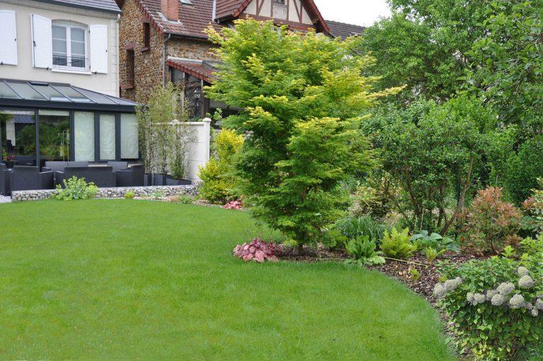 Jardin contemporain romantique paysagiste Sophie Durin