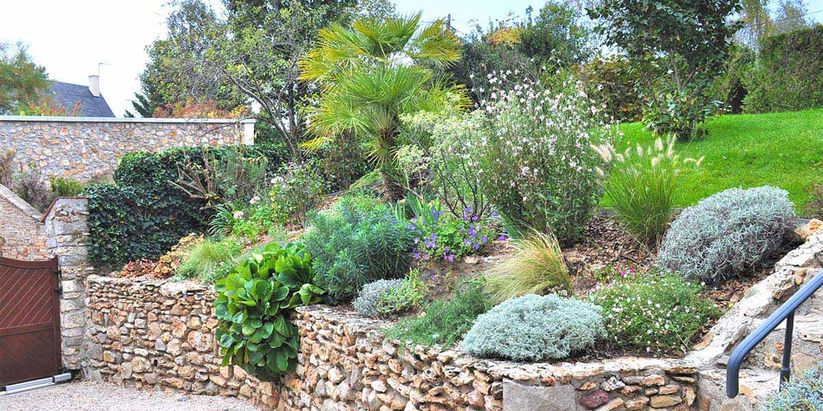 Jardin Mineral Et Vegetal-Sophie Durin Paysagiste Apres