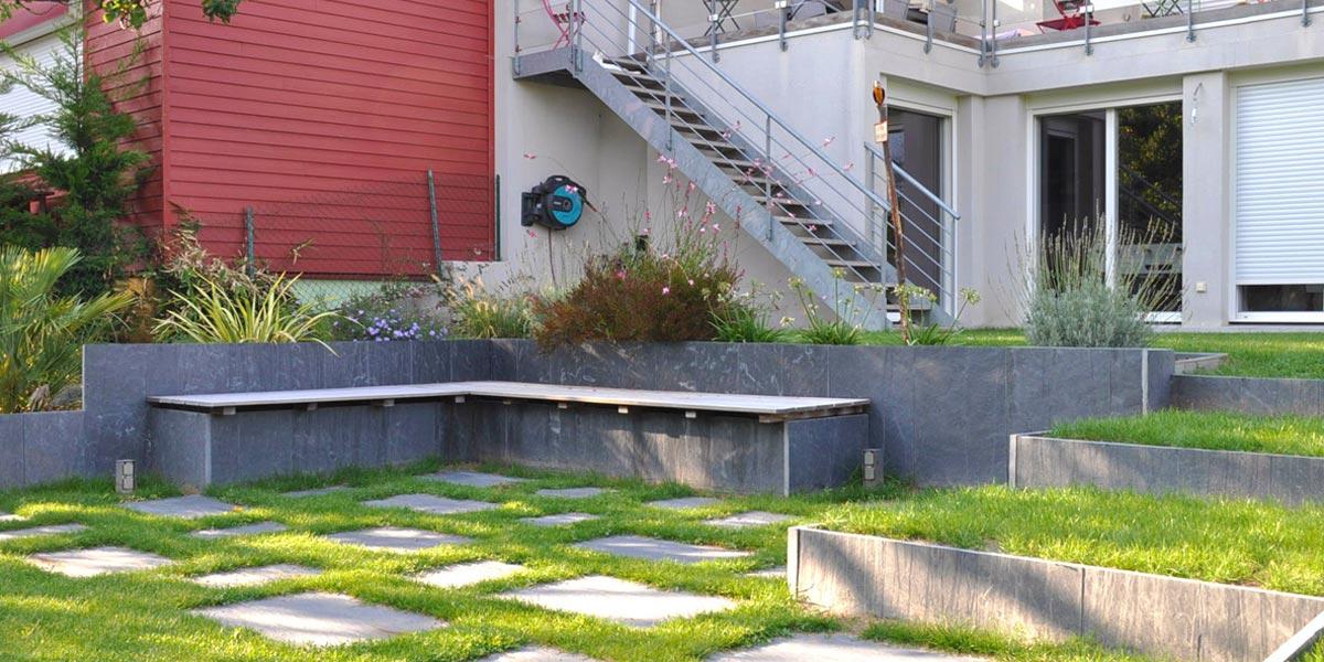 Grand Jardin Avec Terrasse Lounge Apres