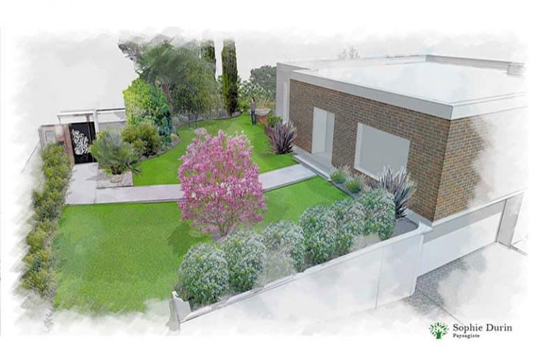 Projet Jardin Yvelines 78.architecte Paysagiste Sophie Durin